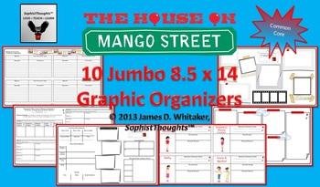 House on Mango Street Jumbo Graphic Organizers 8.5x14