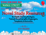 House on Mango Street Novel Study Resources Sandra Cisneros Common Core