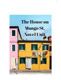 House on Mango Street - Novel Unit Plan