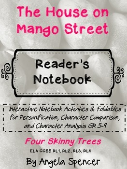 House on Mango Street: Reader's Notebook Activities for Fo