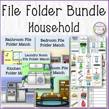 FILE FOLDER BUNDLE Household