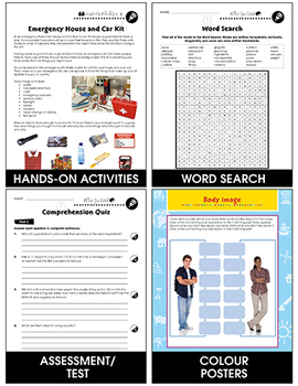 Daily Health & Hygiene Skills:Household Care:Cooking,Laundry,Cleaning Gr6-12 CDN