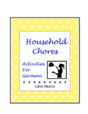 Household * Chores Activities For German