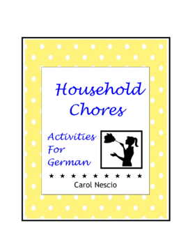 Household Chores * Activities For German