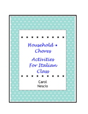 Household * Chores Activities For Italian
