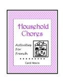 Household * Chores Activities for French