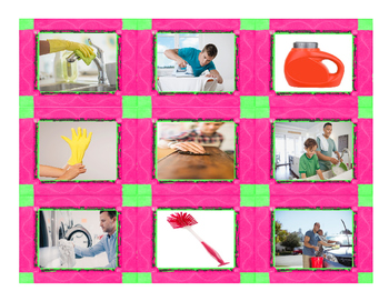 Household Chores & Cleaning Supply Cards
