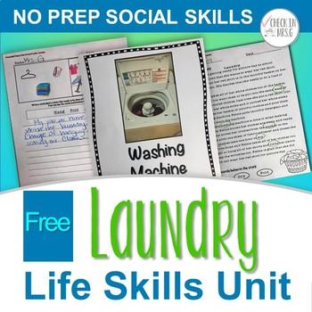 Household Chores Laundry Functional Life Skills