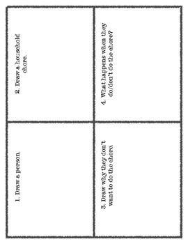 Household Chores PicScript for Language Classes
