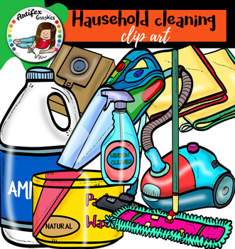 Household Cleaning clip art