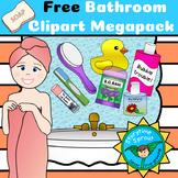 Home Clipart: Bathroom Megapack (23 Free Images!)
