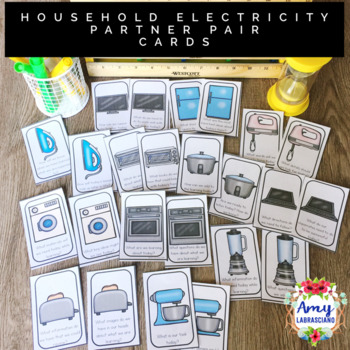 Household Electricity Use Partner Pair Cards