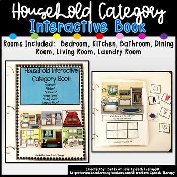 Household Interactive Category Book
