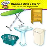 Household Items 2 Clip Art
