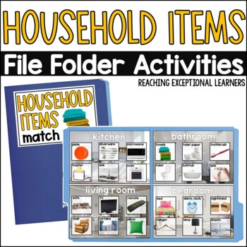 Household Items: Where does it Belong?- Special Education