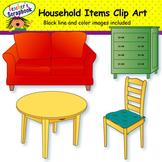 Household Items Clip Art