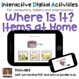 Household Items ⋅ Digital PDF ⋅ Interactive Activities for Special Education