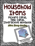 Household Items Picture Cards