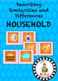 Household Items Similarities and Differences Spinning Whee