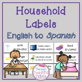 Household Labels English to Spanish