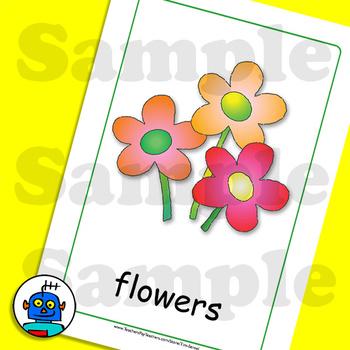 Esl Furniture Flash Cards Flowers Outside Armchair Tv