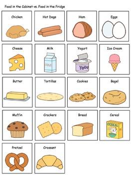 Household Themed File Folder Activities for Preschool and Kindergarten