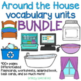 Around the House Vocabulary Units *BUNDLE* for special education