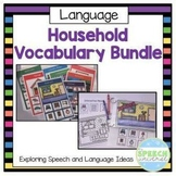 Household Vocabulary Bundle- Interactive Books and Categor