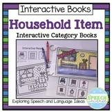 Household Vocabulary Interactive Books