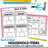 Household items sort