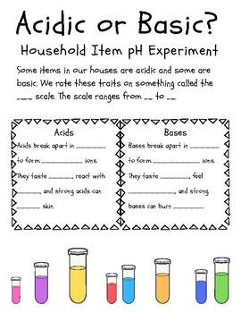 Household pH Lab