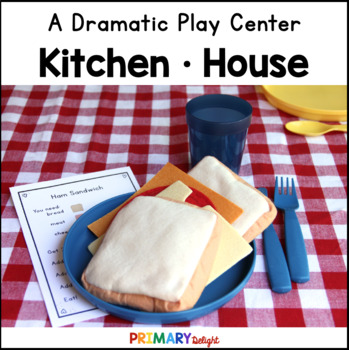 Housekeeping and Kitchen Dramatic Play Center