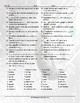 Houses-Apartments Features and Appliances Word Spiral Spanish Worksheet