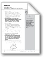 Houses (Identify Place): Book Report Form