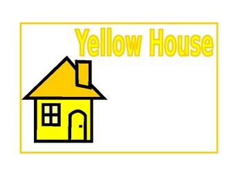 Houses Signs EDITABLE