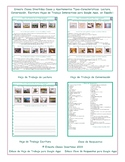 Houses and Apartments Read-Converse-Write Spanish  Worksheets-Google Apps