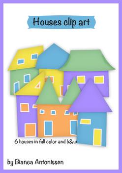 Houses {clip art}