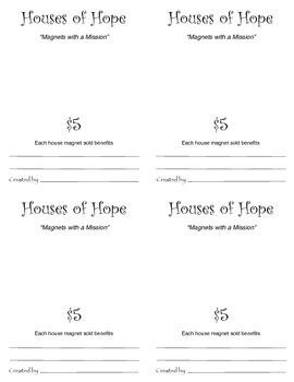 Houses of Hope Art Fundraiser
