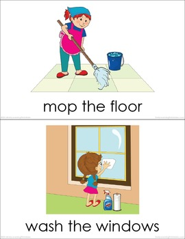 Housework Picture Flashcards