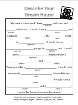 Housing Classified Ads Conversation Cards Amp Dream House
