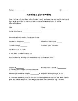 Housing Handout (Renting)