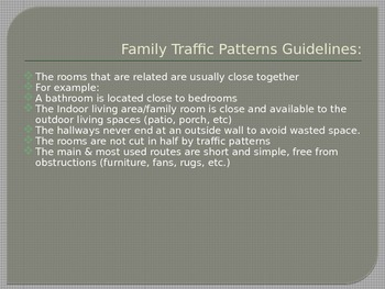 Housing Traffic Patterns Power Point