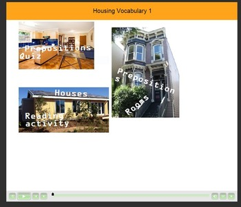 Housing Vocabulary 1 Mobile Device Resource