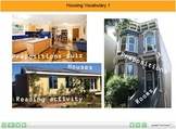 ESL resource: Housing Vocabulary Interactive Resource 1