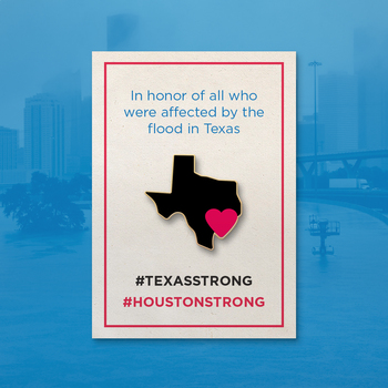 Houston Strong Pin