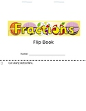 Fraction Flip Book
