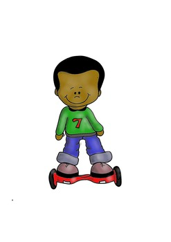 hoverboard kid free clip art by fun creatives teachers pay teachers rh teacherspayteachers com Teachers Pay Teachers Quote February Clip Art for Teachers