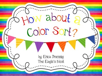 How About A Color Sort?