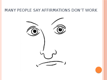 How Affirmations Work With Affirmations Included