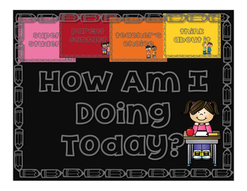 How Am I Doing Today? Part II: A Behavioral Chart